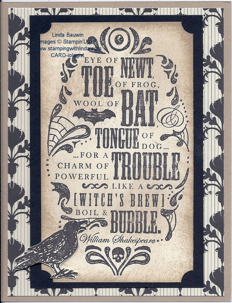 Toil & Trouble Stamp Set