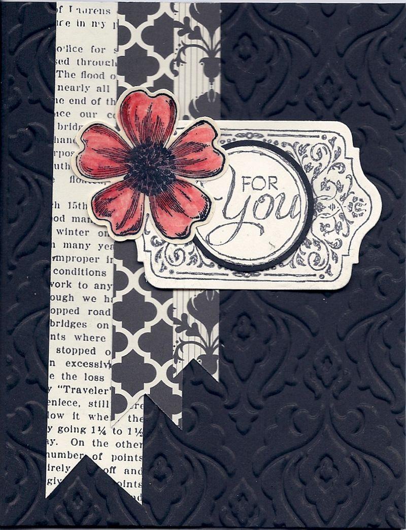 Baroque Ebossing Folder_Modern Medley DSP_Flower Shop_Chalk Talk_Lisa Hirsch