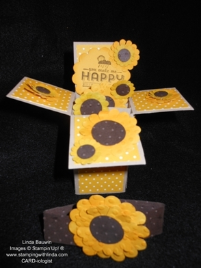 Card in a Box_Sunflowers