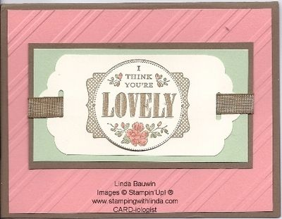 You're Lovely STamp Set_Tracy Spangler