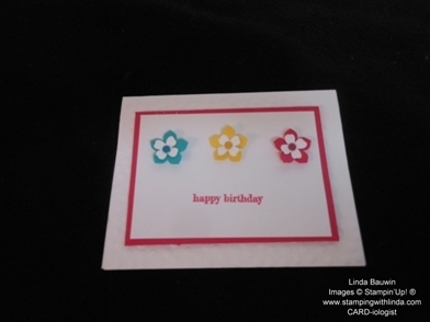 Three Flower Card_WOW Stamping Moment