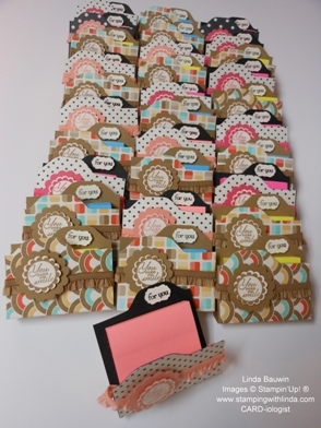 Post-a-Note Folder_Stampin' Up!