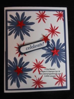 Celebrate 4th of July Card