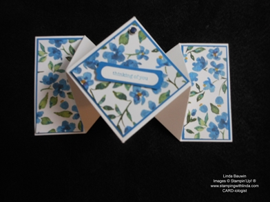 Diamond Fold Card_Linda Bauwin