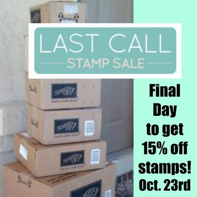 Last Call Stamp Sale Linda Bauwin