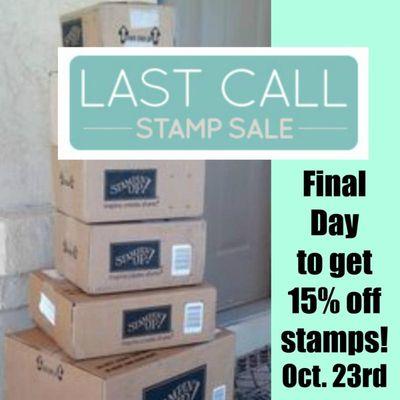 Last Call Stamp Sale Linda Bauwin