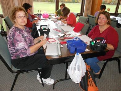 Stamp Retreat Linda Bauwin