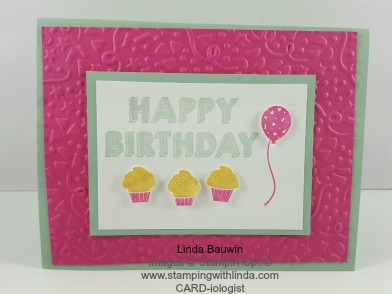 Party Wishes Stamp Set Linda Bauwin