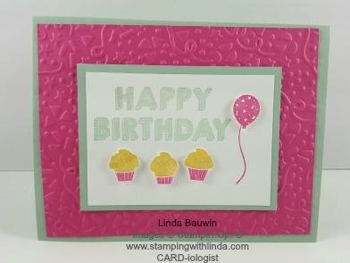 Party Wishes Stamp Set Linda Bauwin