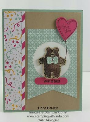 Birthday Bear Linda Bauwin
