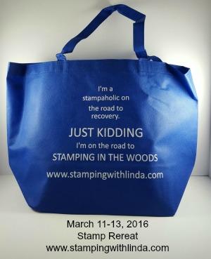 Stamp Retreat Bag Linda Bauwin