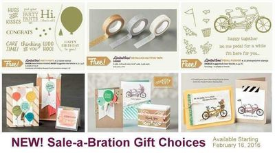 New Sale-a-Bration Items Linda Bauwin
