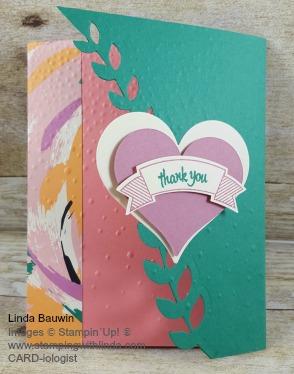 #ivyflapcard #creativefoldcards #cardswithcreativefolds #lindabauwin
