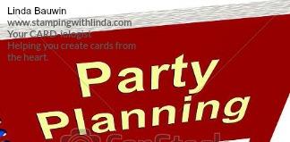 #partyplanning #lindabauwin