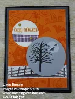 #halloweencard #lindabauwin