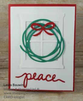 #christmascard #lindabauwin