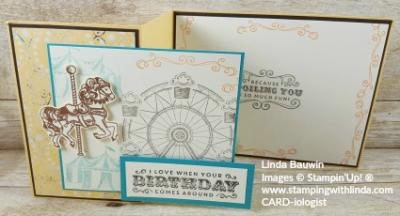 #creativefoldcards #lindabauwin #11o