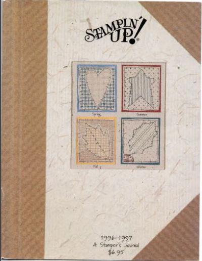 1996-1997 Stampin Up Catalog