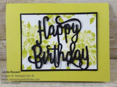 #happybirthdaycard #lindabauwin