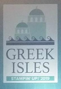 #greekisles #stampinup #lindabauwin