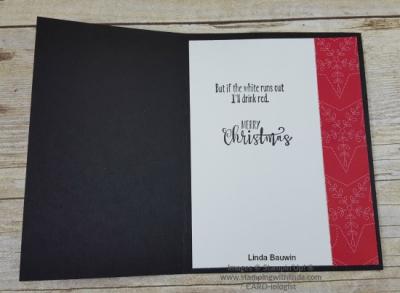 #halffullchristmascard #lindabauwin