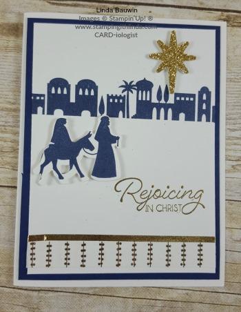 #nightinbethelem #christmascard #rejoicinginchrist #lindabauwwin