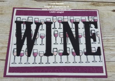 #wine #birthdaycard #lindabauwin