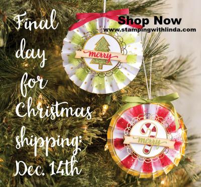 #shippingdatechristmas #lindabauwin