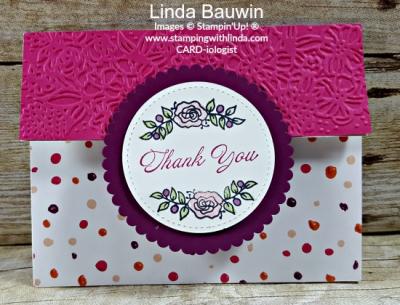 #lotsoflavendar #trifoldcard #lindabauwin