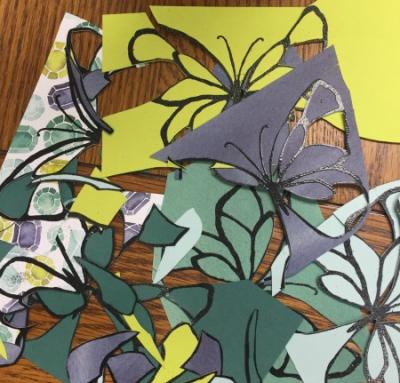 #paperpiercing #lindabauwin