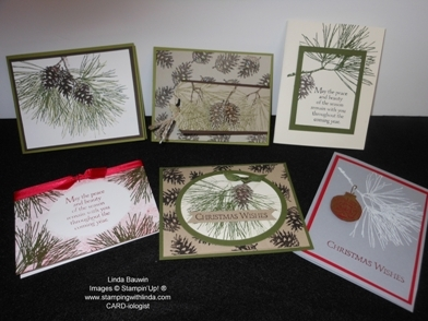 Ornamental Pine Stamp Set_Stamp of the Month Kit