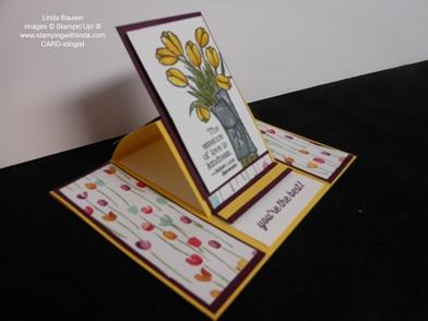 Center Panel Easel Card_Linda Bauwin