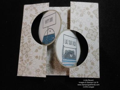 Double Flip Circle Card_Linda Bauwin