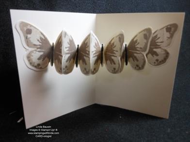 Creative Butterfly Fold Card_Linda Bauwin