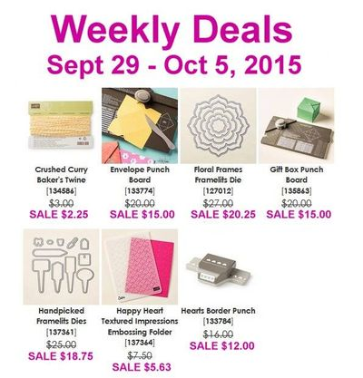 Sept 29 Weekly Deals Linda Bauwin