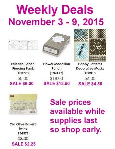 SU! Weekly Deals Linda Bauwin