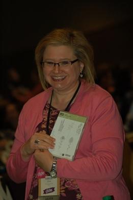 Karen Burke On Stage Linda Bauwin