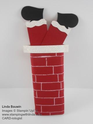 Santa Candy Bar Linda Bauwin