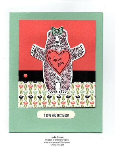 Bear Hugs Samp Set Linda Bauwin