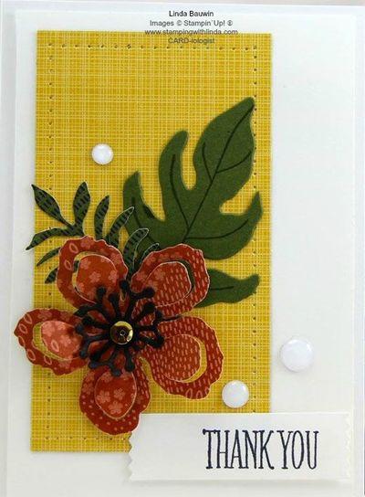 Botanical Blooms Stamp Set Linda Bauwin