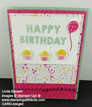 Mystery Hostess Card Linda Bauwin