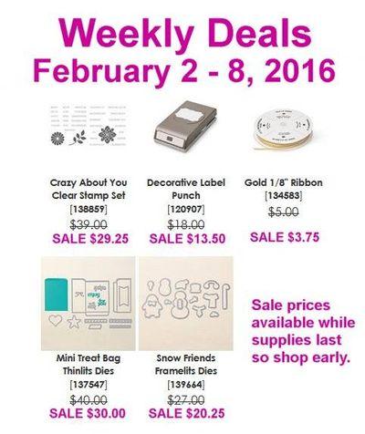 Weekly deals Feb 8