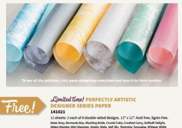 Perfectly Artistic Dsigner Paper Linda Bauwin