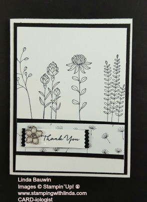 Stamp a Stack Flowering Fields Linda Bauwin