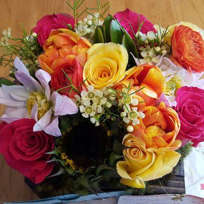 Beautiful Flowers Linda Bauwn