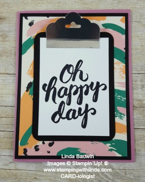 #clipboardcard #newincolors #lindabauwin