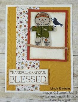 #thanksgivingcard #lindabauwin