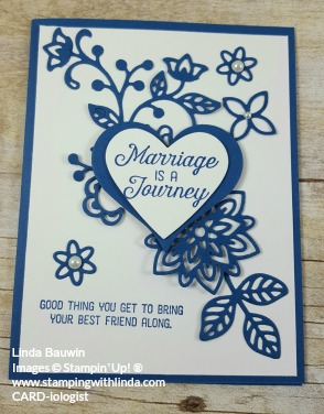 #weddingcard #lindabauwin