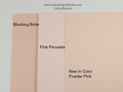 #incolor #powderpink #lindabauwin