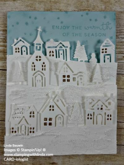 #hometowngreetingsedgelitsdies #christmascard #lindabauwin
